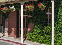 Inviting restaurant exterior Royalty Free Stock Photography
