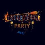 Invito del partito di Halloween Immagini Stock