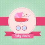 Invito della doccia di bambino Fotografia Stock Libera da Diritti