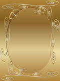 Invito della scheda di anniversario di cerimonia nuziale illustrazione di stock