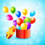 Invito di celebrazione e del partito Immagine Stock