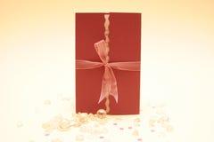 Invito di cerimonia nuziale Fotografia Stock Libera da Diritti