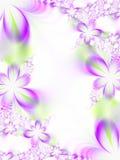 Invito di cerimonia nuziale del fiore Fotografie Stock