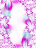 Invito di cerimonia nuziale del fiore Fotografia Stock
