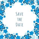 Invito di cerimonia nuziale Salvo la data Royalty Illustrazione gratis
