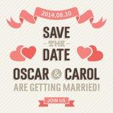 Invito di nozze Immagine Stock Libera da Diritti