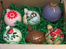 Invito per progettazione di stile di vita Forno casalingo Cioccolato bianco Pasticcerie dolci fresche Cioccolato fuso immagine stock
