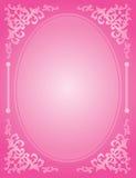 Invito rosa di nozze illustrazione vettoriale