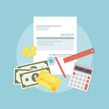 Invoice Stock Photography
