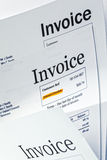 Invoice Royalty Free Stock Photography