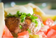 Involucro del Falafel Fotografie Stock