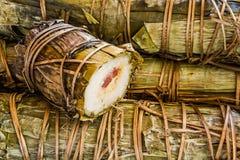 Punto di ebollizione del riso appiccicoso Fotografia Stock Libera da Diritti