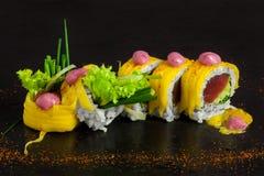 Involucro del tornado dei sushi Immagini Stock Libere da Diritti