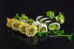 Involucro del tornado dei sushi Immagine Stock