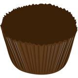 Involucro di caramella del cioccolato Immagine Stock