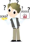 Inwestor Obrazy Stock