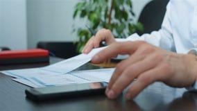 Inwestora handel Z Biznesowym raportem zdjęcie wideo