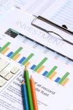 Inwestorska analiza Obraz Royalty Free