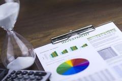Inwestorska analiza obrazy royalty free