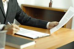 Inwestorski Biznesowy intoduction fotografia stock