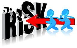 inwestorski ryzyko Fotografia Stock