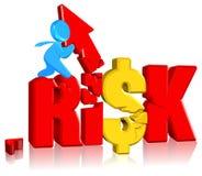 inwestorski ryzyko Zdjęcie Stock