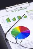 Inwestorski zarządzanie ryzykiem zdjęcie stock