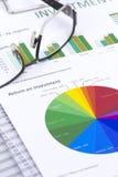 Inwestorski zarządzanie ryzykiem obraz stock