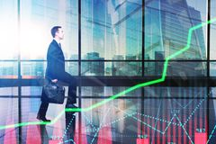 Inwestyci i analizy pojęcie Fotografia Stock
