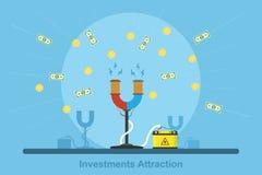 Inwestyci przyciąganie ilustracji