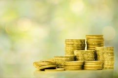 Inwestycja, pieniądze, interes i pieniężny pojęcie, Zdjęcia Stock