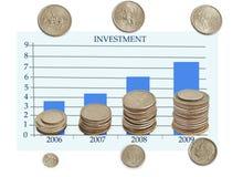 inwestycje Zdjęcie Royalty Free