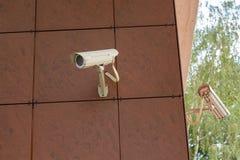 Inwigilacj kamery bezpieczeństwa Fotografia Stock