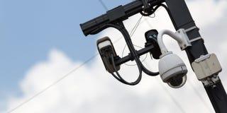 Inwigilacj kamery plenerowe obraz stock