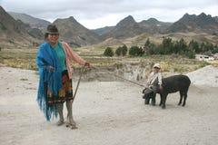 Inwoners van Ecuador Royalty-vrije Stock Foto