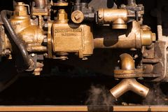 Inyector del vapor Fotografía de archivo