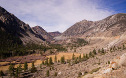 Inyo National Forest Highway 120 Sierra Nevada Range Royalty Free Stock Photography
