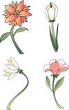 Inzameling 1 van de bloem Stock Foto's