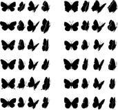 Inzameling 1 van de vlinder Stock Fotografie