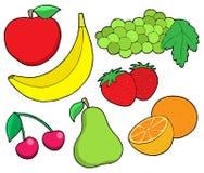 Inzameling 1 van het fruit Royalty-vrije Stock Afbeelding