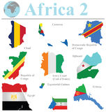 Inzameling 2 van Afrika Stock Fotografie