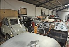 Inzameling van Auto's Salvador Claret royalty-vrije stock foto