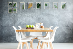 Inzameling van bladeren royalty-vrije stock afbeelding