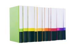 Inzameling van boeken stock fotografie