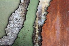 Inzameling van doorstane texturen Royalty-vrije Stock Afbeelding