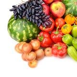 Inzameling van fruit en Groenten Royalty-vrije Stock Fotografie