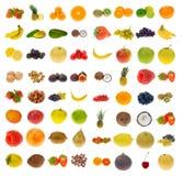 Inzameling van fruit en noten Royalty-vrije Stock Afbeeldingen