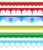 Inzameling van grenzen royalty-vrije illustratie