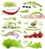 Inzameling van groenten Royalty-vrije Stock Afbeelding