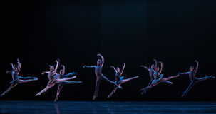 Inzameling ` van het festival de Carnaval-Klassieke ballet ` Austen Stock Afbeeldingen